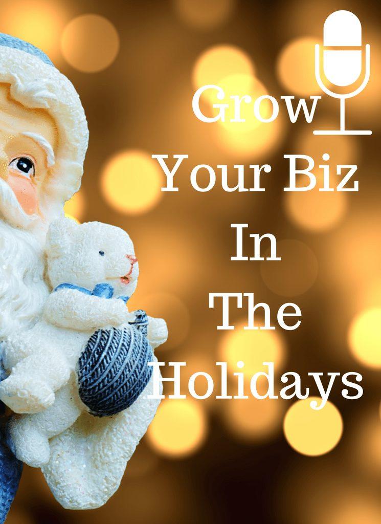 Grow Your Biz In The Holidays with Teanna Lanise
